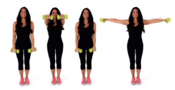 In and Out Extension Back Fat Exercise being done by Trainer Christina Carlyle