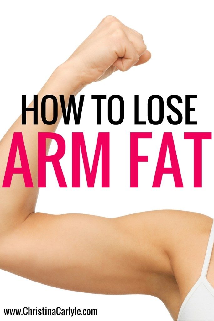 how to get slim arms fast at home