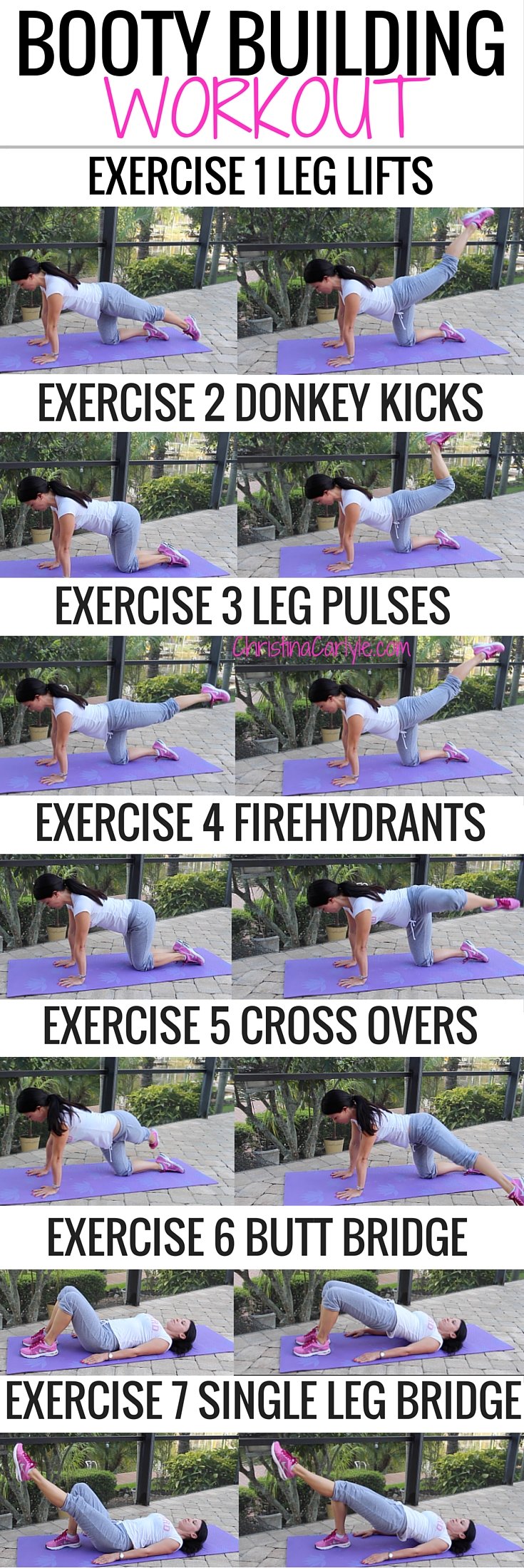 Butt Exercises Christina Carlyle