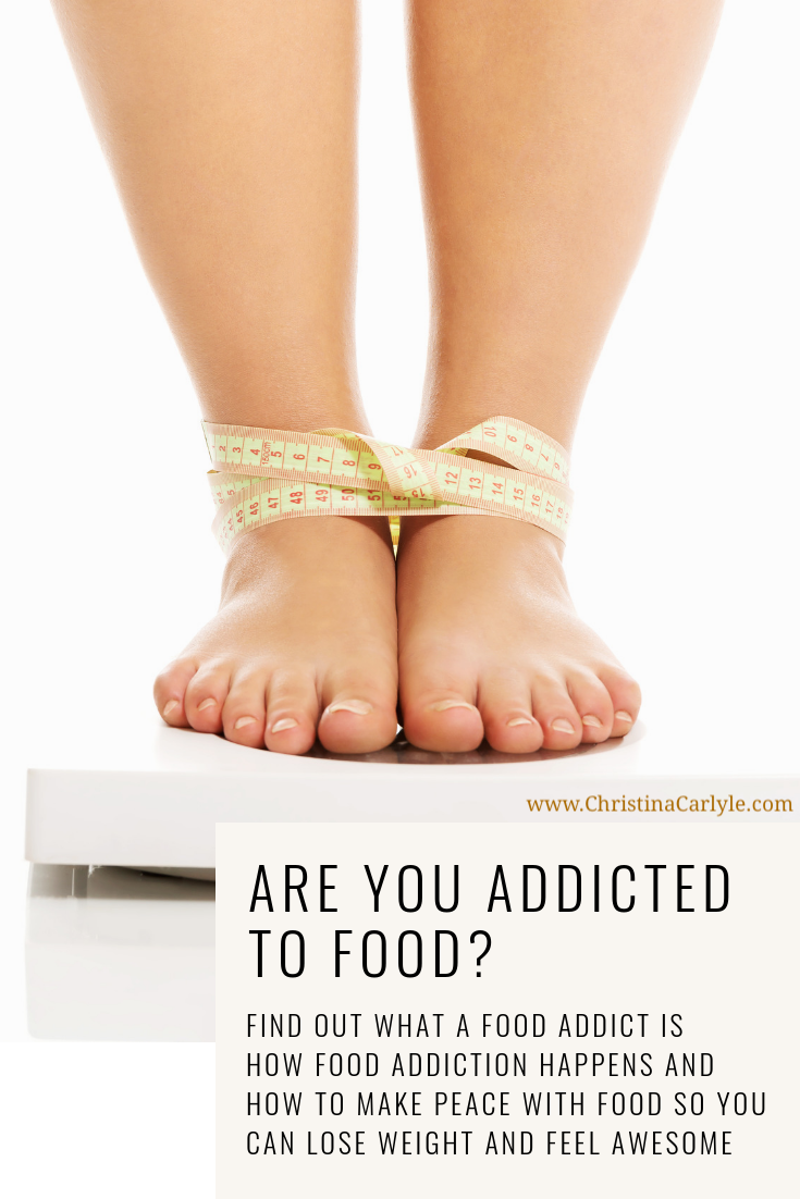 Am I a food Addict? Find out if you're a food addict from a former food addict https://christinacarlyle.com/am-i-addicted-to-food/