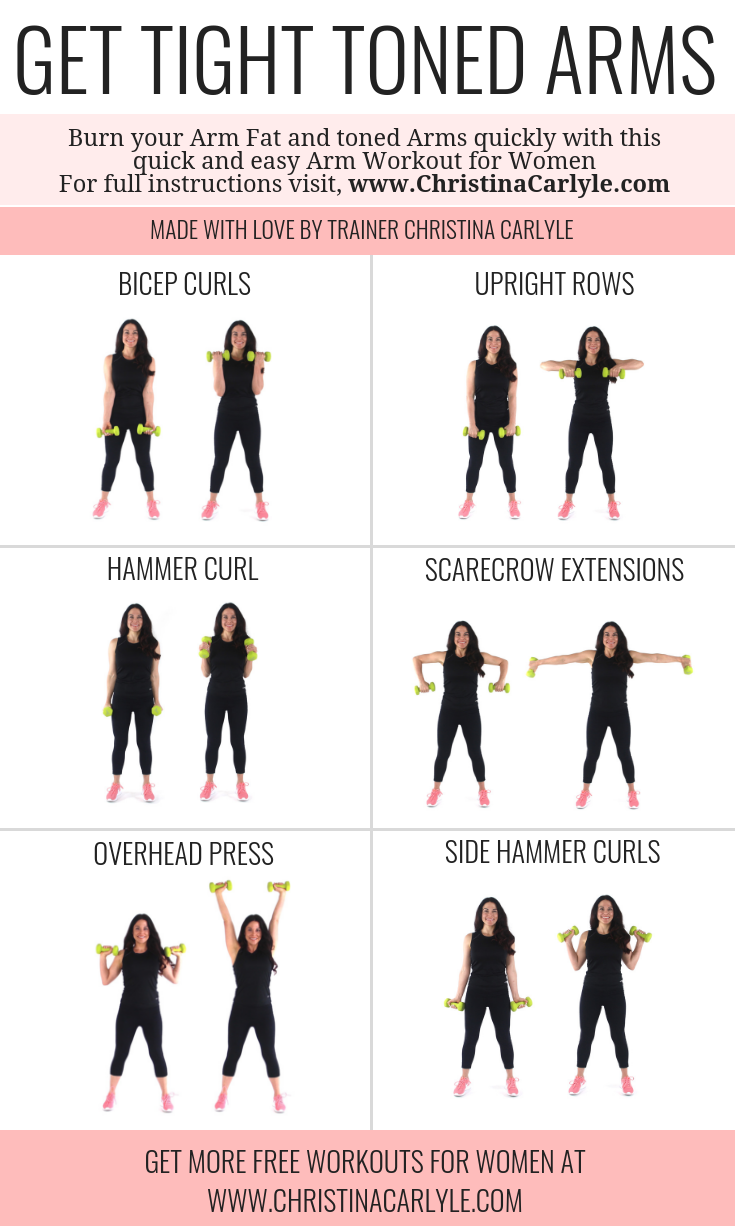 Arm Workout for Women Christina Carlyle