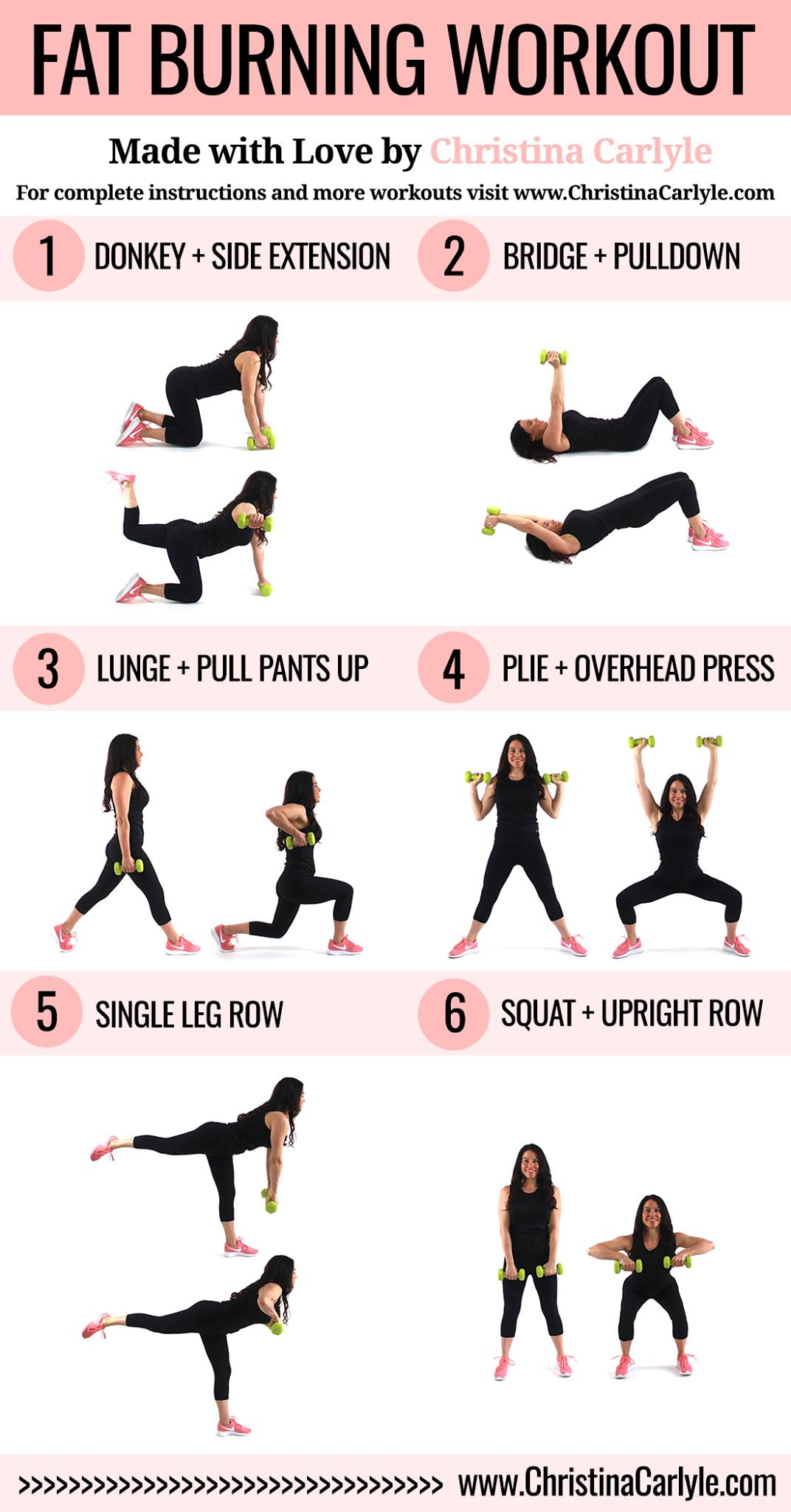 Fat Burning Workout for Women Christina Carlyle