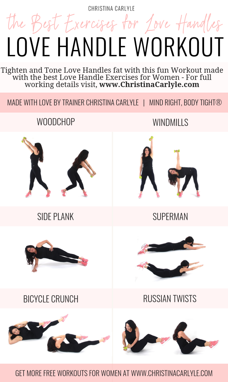The Best Love Handle Exercises Christina Carlyle