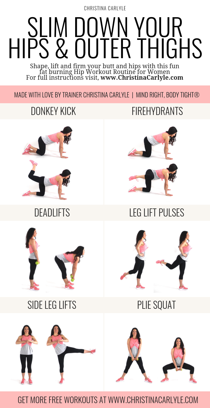 Hip Workout Christina Carlyle