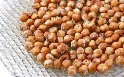 Roasted Chickpeas a Crunchy, Salty, Healthy Guilt-free Snack Recipe
