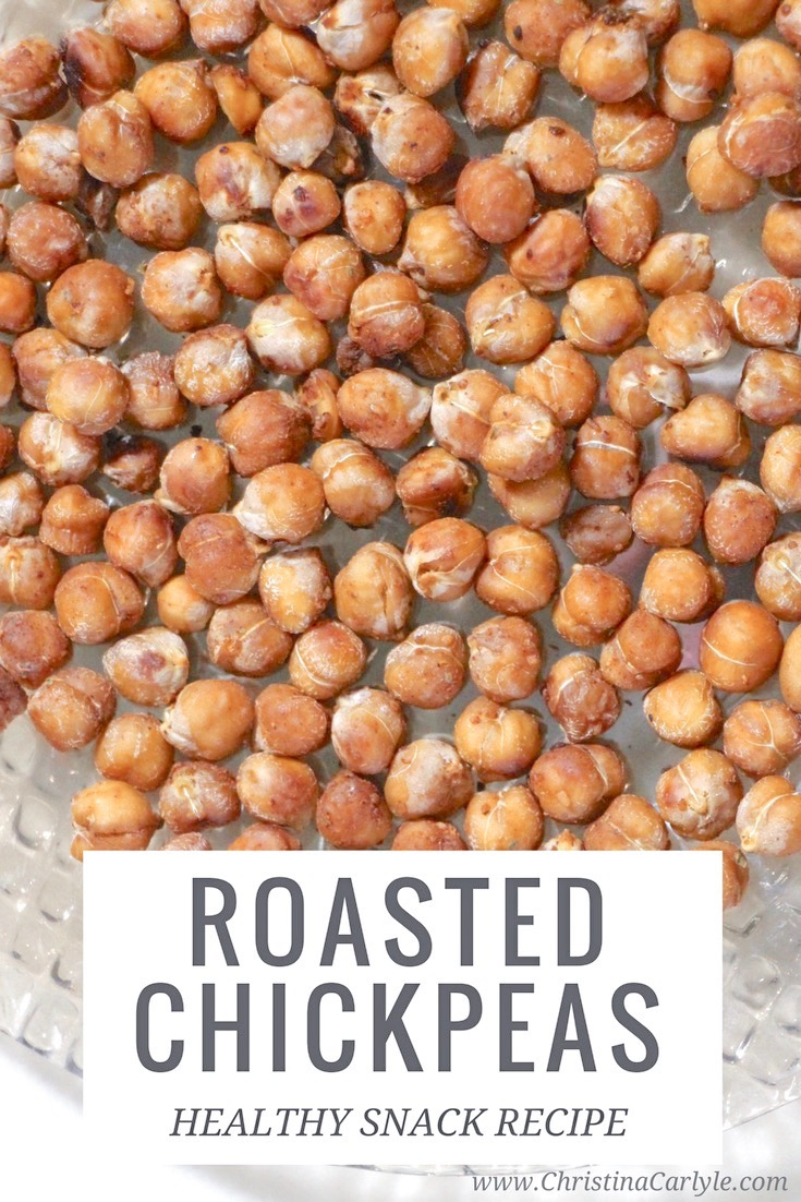Roasted Chickpeas in a bowl