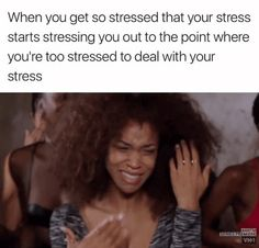 Meme about stress